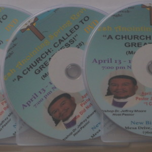 CD-Sermon-Pastor Mason in Revival New Birth Church - Oceanside CA (3-CD Set)