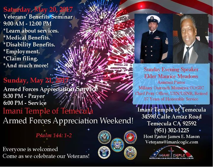 Imani Armed Forces Day